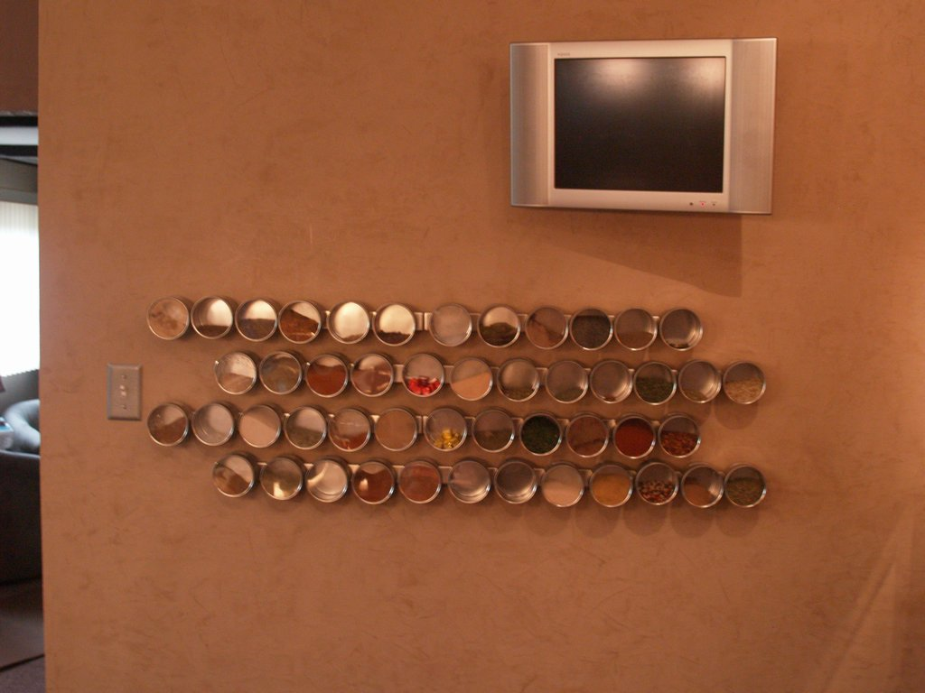 Magnetic Spice Rack Revisited